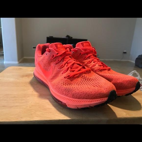 da2417b903c2 Nike zoom all out crimson red size 11.5. M 5a48195900450fe377175e0e